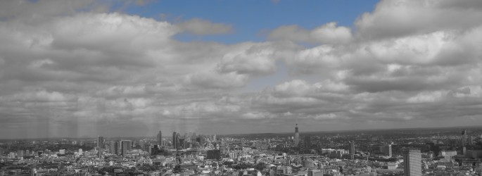 View of London from the BT Tower