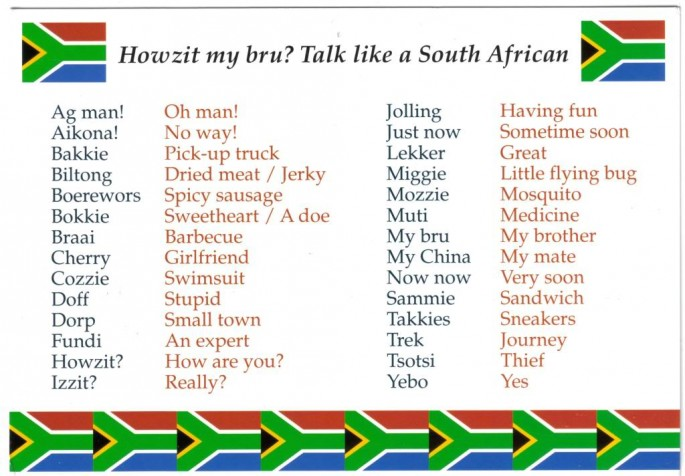 South african slang guide archive the apricity forum a european south african slang guide archive the apricity forum a european cultural community m4hsunfo
